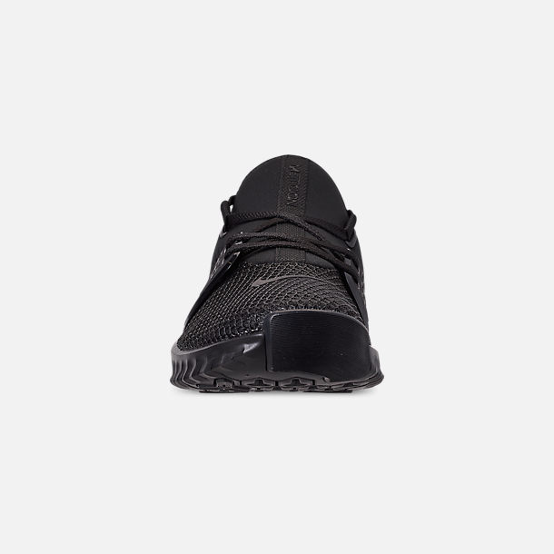 Front view of Men's Nike Free X Metcon 2 Training Shoes in Black/Black