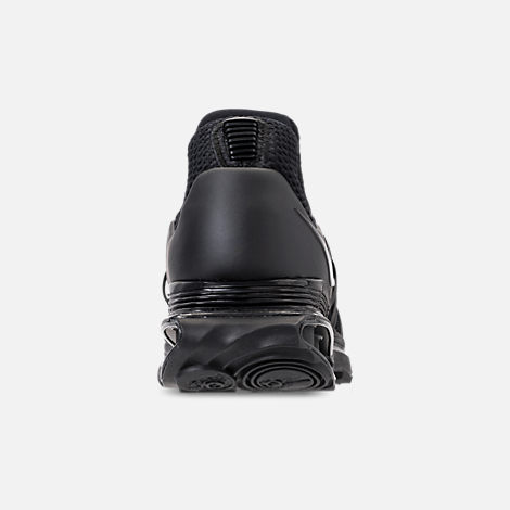 Back view of Women's Nike Shox Gravity Casual Shoes in Black/Black