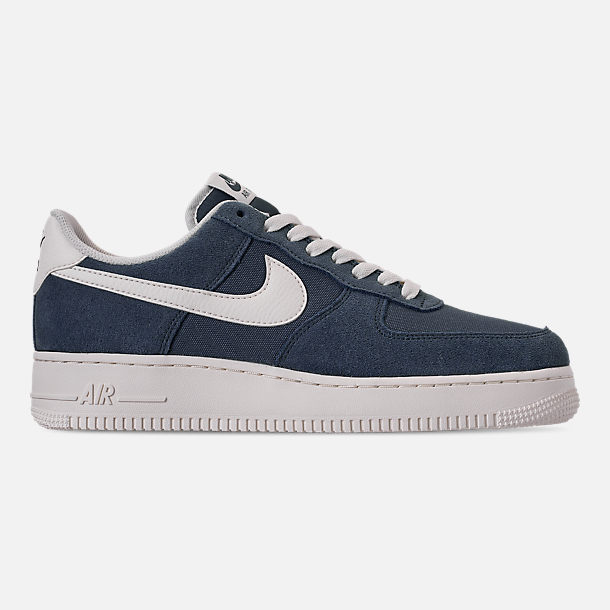 Right view of Men's Nike Air Force 1 '07 2 Casual Shoes in Monsoon Blue/Sail