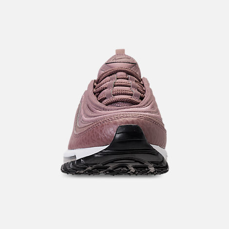Front view of Women's Nike Air Max 97 Leather Casual Shoes