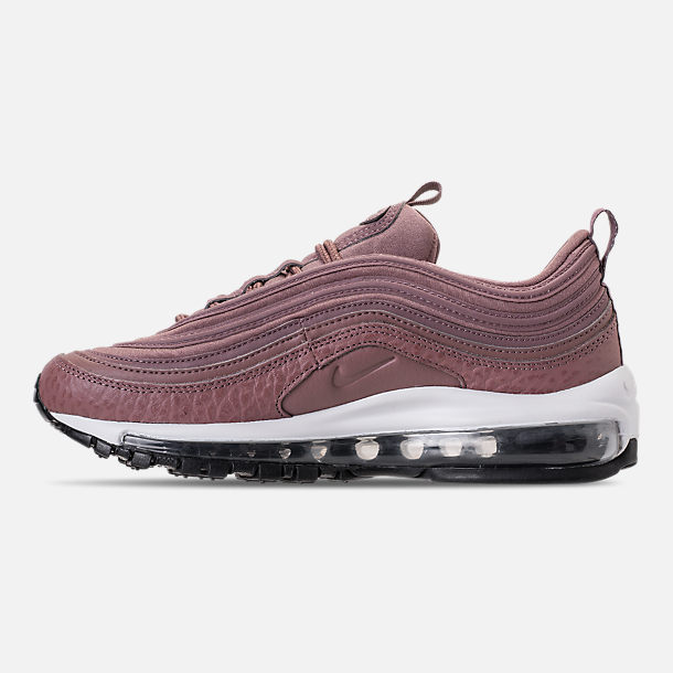 Left view of Women's Nike Air Max 97 Leather Casual Shoes