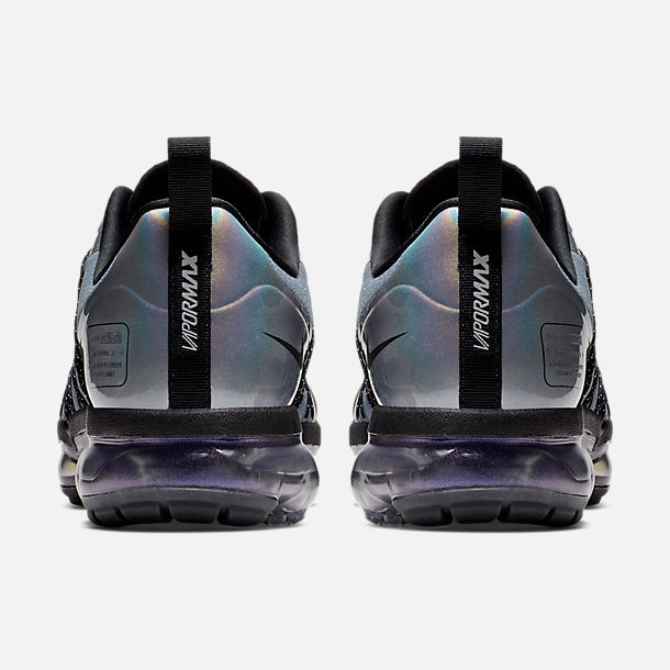 Left view of Men's Nike Air VaporMax Run Utility Running Shoes in Blue Dusk/Black/Anthracite