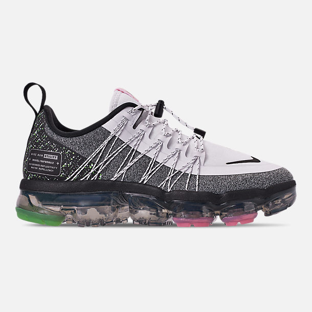 b3be0688175 Right view of Women s Nike Air VaporMax Run Utility Running Shoes in White  Black