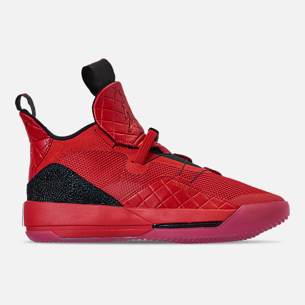 8cd5260d47a01 Right view of Men s Air Jordan XXXIII Basketball Shoes in University  Red University Red