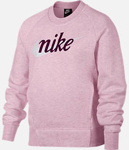 Girls' Nike Sportswear Graphic Crewneck Sweatshirt