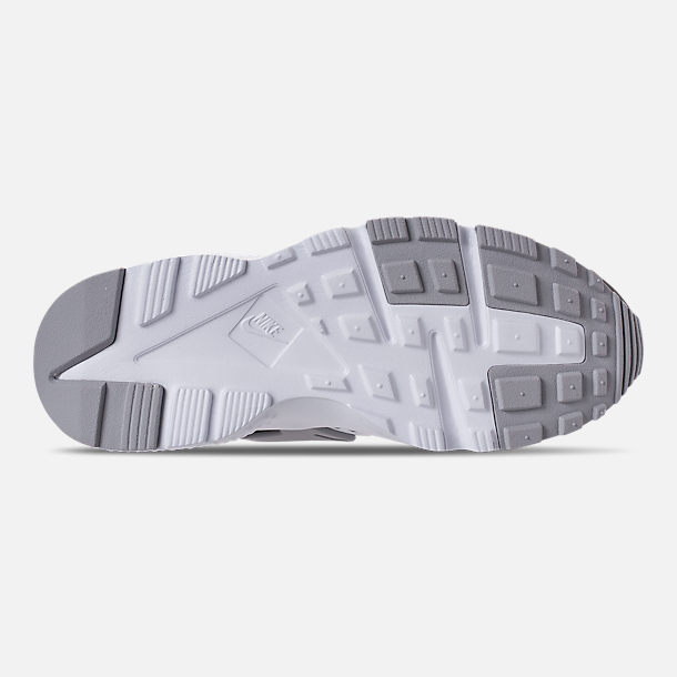 Bottom view of Boys' Grade School Nike Air Huarache Run Print Casual Shoes