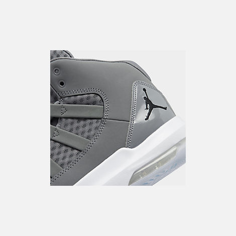 Front view of Men s Air Jordan Max Aura Off-Court Shoes in Cool Grey  add7984af