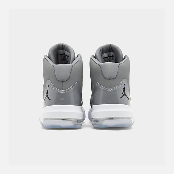 Left view of Men s Air Jordan Max Aura Off-Court Shoes in Cool Grey  6ce65e793