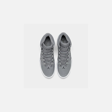 Back view of Men s Air Jordan Max Aura Off-Court Shoes in Cool Grey  46327ae70