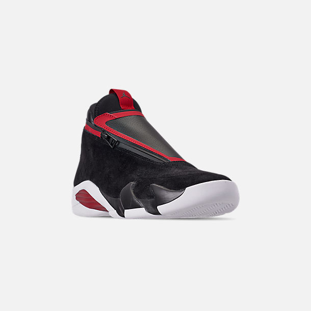 Three Quarter view of Men's Jordan Jumpman Z Basketball Shoes