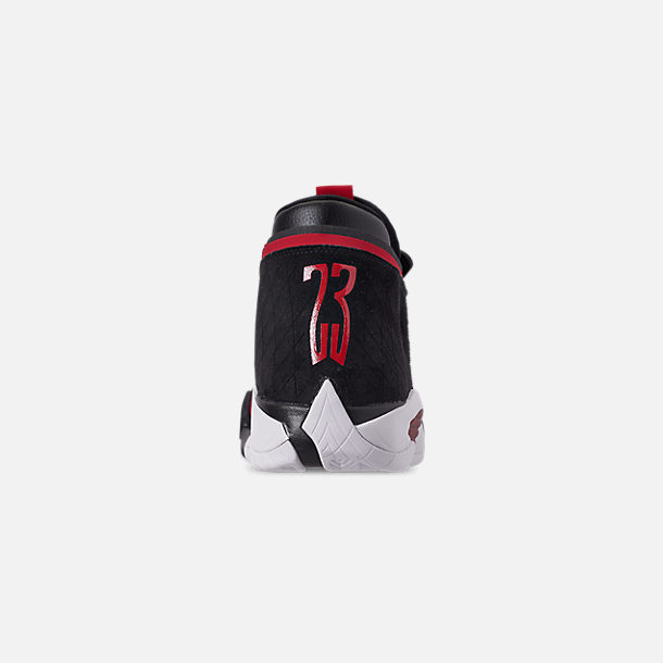 Back view of Men's Jordan Jumpman Z Basketball Shoes