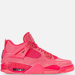 99fa62c2076fd1 Women s Air Jordan Retro 4 NRG Basketball Shoes