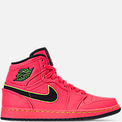 Women s Air Jordan Retro 1 Premium Basketball Shoes ede35de0f