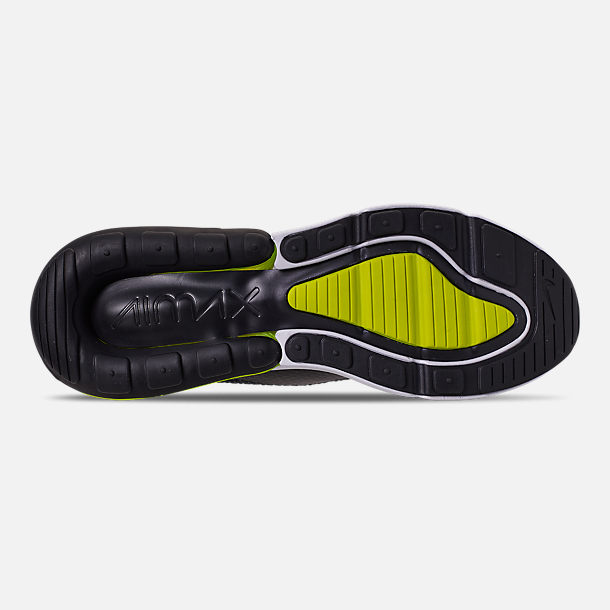the latest 57e31 ea9bf Bottom view of Men s Nike Air Max 270 SE Casual Shoes in Anthracite Volt
