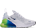 White/White/Lime Blast/Photo Blue
