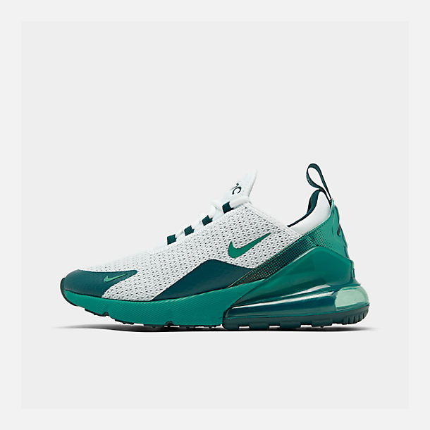 Right view of Men's Nike Air Max 270 SE Casual Shoes in White/Spirit Teal/Nightshade