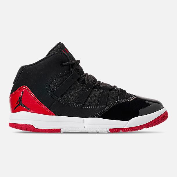4b43fd665513 Right view of Boys  Little Kids  Jordan Max Aura Basketball Shoes in Black