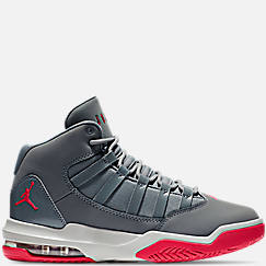 Girls' Grade School Jordan Max Aura Basketball Shoes