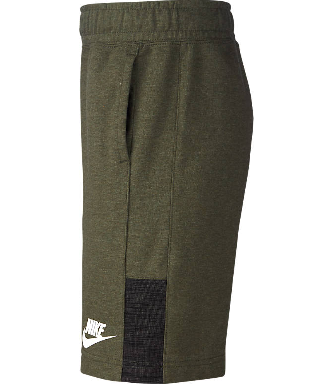 Product 3 view of Boys' Nike Sportswear Jersey Shorts in Cargo/Khaki