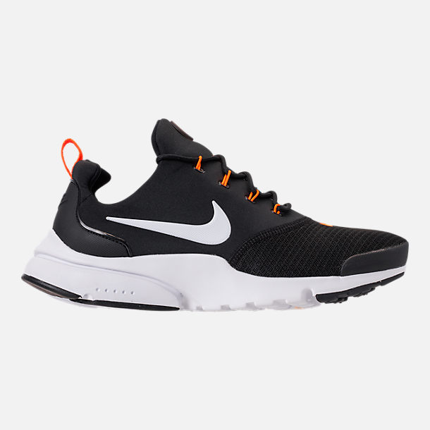Right view of Men's Nike Presto Fly JDI Casual Shoes in Black/White/Total Orange