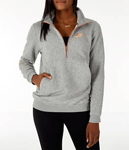 Women's Nike Sportswear Air Half-Zip Mock Neck Pullover