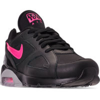 Finishline.com deals on Men's Nike Air Max 180 Leather Casual Shoes