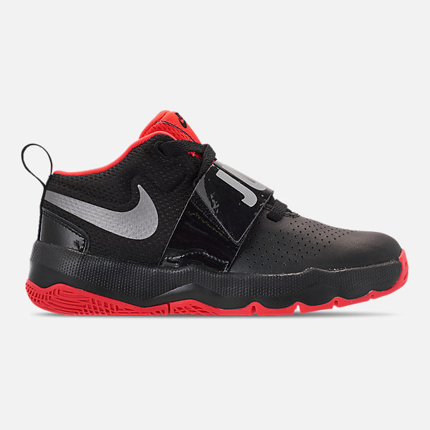 aa2bc96bb3aa2 Right view of Boys' Little Kids' Nike Team Hustle D8 Basketball Shoes