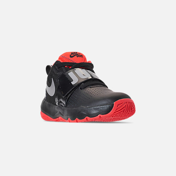 sale retailer 2483a 175e4 Three Quarter view of Boys  Little Kids  Nike Team Hustle D8 Basketball  Shoes