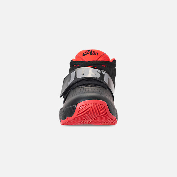c78e3cdd987c8 Front view of Boys' Little Kids' Nike Team Hustle D8 Basketball Shoes