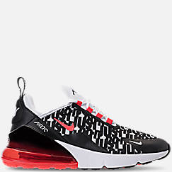 Big Kids' Nike Air Max 270 Print Running Shoes