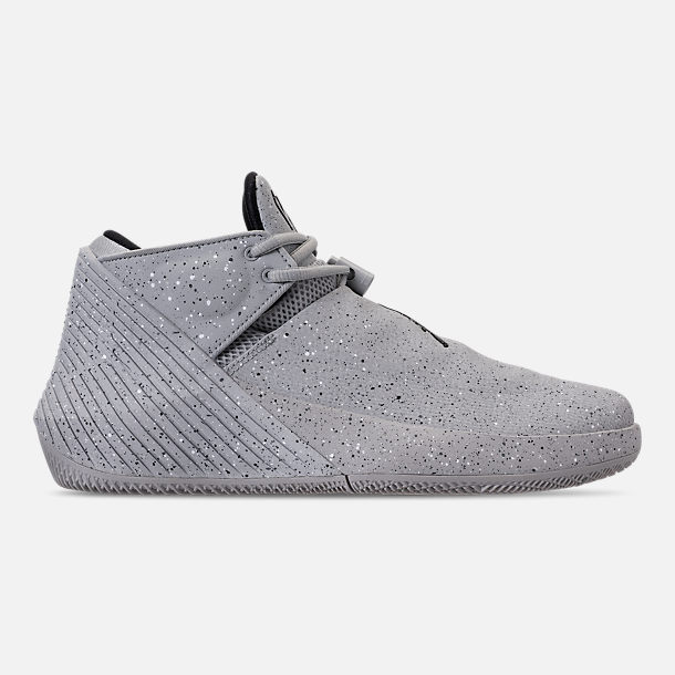 Right view of Men's Air Jordan Why Not Zer0.1 Low Basketball Shoes in Light Smoke Grey/Black/Iron Grey
