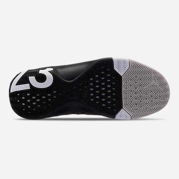 afe7e212c2d41c Bottom view of Men s Air Jordan Ultra Fly 3 Basketball Shoes in Black White