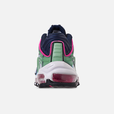 Back view of Boys' Big Kids' Nike Air Max Deluxe Casual Shoes