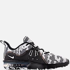 Men's Nike Air Max Sequent 3 Premium Camo Running Shoes