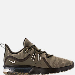 Men's Nike Air Max Sequent 3 Premium Camo Running Shoes