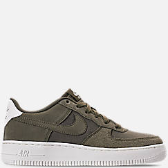 Boys' Big Kids' Nike Air Force 1 Suede Casual Shoes