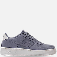 Boys' Grade School Nike Air Force 1 Suede Casual Shoes