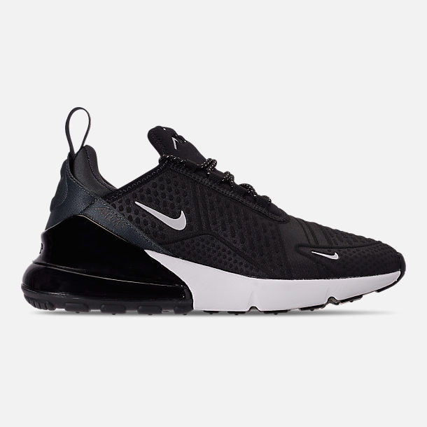 Right view of Women's Nike Air Max 270 SE Casual Shoes in Black/Summit White/Black/Anthracite