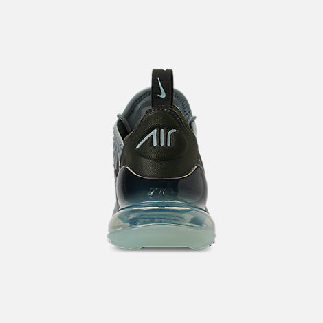 Back view of Women's Nike Air Max 270 SE Casual Shoes in Mica Green/Sequoia/Igloo/Summit White