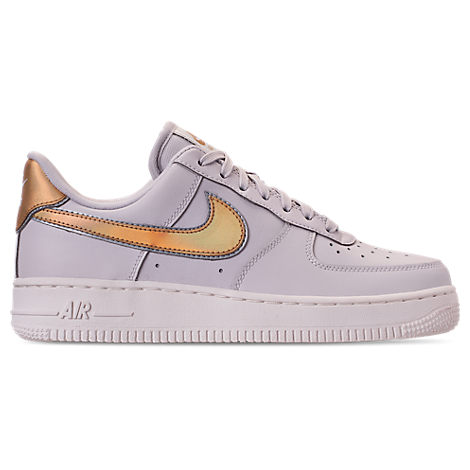 Women'S Air Force 1 '07 Metallic Casual Shoes, Grey