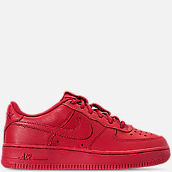 Boys' Grade School Nike Air Force 1 QS Casual Shoes