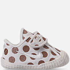 Girls' Infant Nike Waffle 1 Print Hook-and-Loop Crib Booties