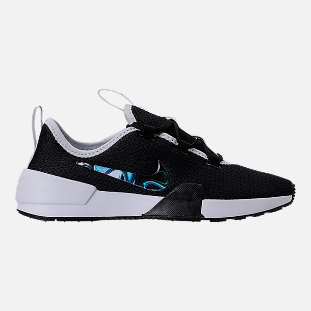 Right view of Women's Nike Ashin Modern Casual Shoes in Black/Black/White