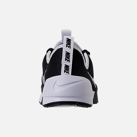 Back view of Women's Nike Ashin Modern Casual Shoes in Black/Black/White