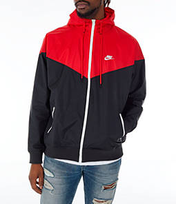 Men's Nike Sportswear Colorblock Windrunner Hooded Jacket