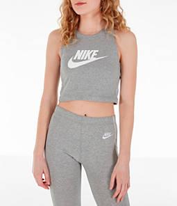 Women's Nike Sportswear Heritage Cropped Tank