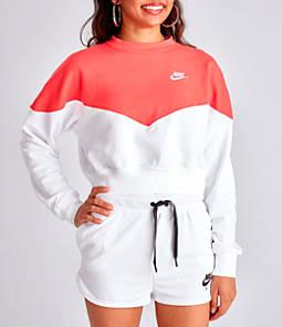 Women's Nike Sportswear Heritage Crop Crew Sweatshirt
