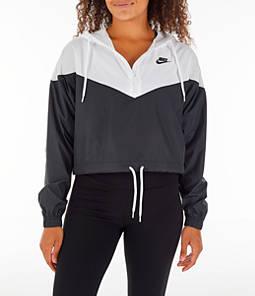 Women's Nike Sportswear Heritage Crop Windrunner Jacket