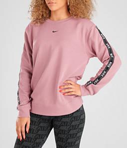 Women's Nike Sportswear Logo Tape Crew Sweatshirt
