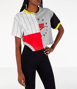 Women's Nike Sportswear Mixed Media T-Shirt